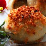 玄米レシピ「焼きカレーパン」
