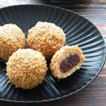玄米レシピ「ごま団子」