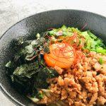 玄米レシピ「台湾まぜそば」