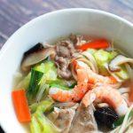 玄米レシピ「玄米タンメン」