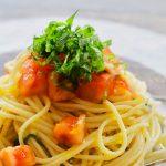 玄米レシピ「トマトの冷製パスタ」