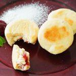 玄米レシピ「ラズベリークリームパン」