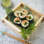 玄米レシピ「そば巻き寿司」