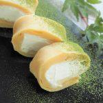 玄米レシピ「ミニロールケーキ」