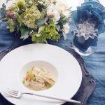第1回コンテスト玄米レシピ「ふんわりササミと焼きネギの 豆乳クリームパスタ」