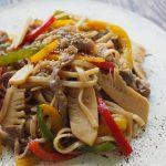 玄米レシピ「中華焼きそば」