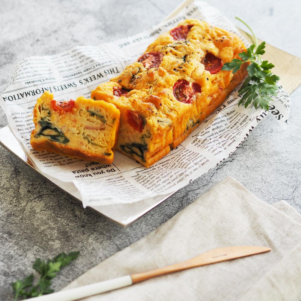 玄米レシピ「ケークサレ」