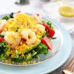 玄米レシピ「ミモザサラダ」