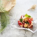 玄米レシピ「タコマリネ」